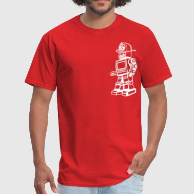 robotfirefighter - Men's T-Shirt