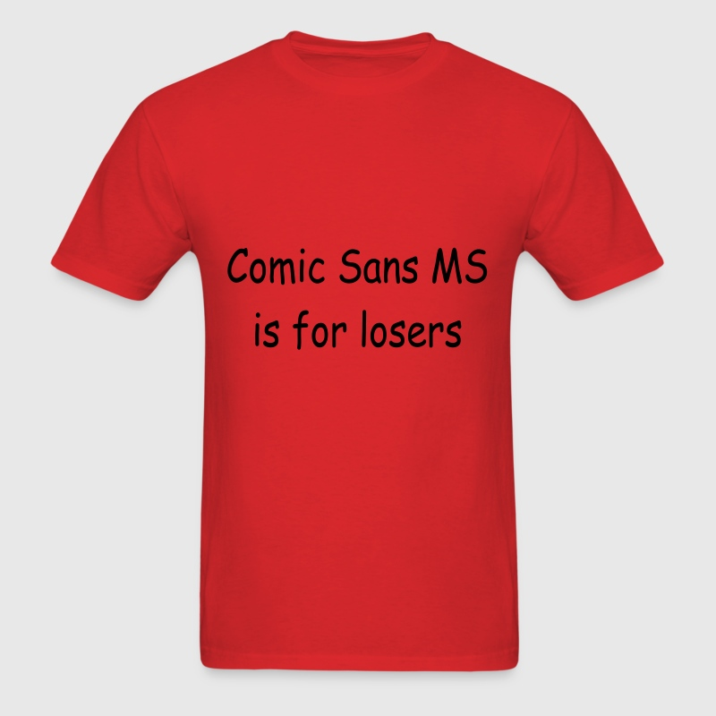 Comic Sans MS - Men's T-Shirt