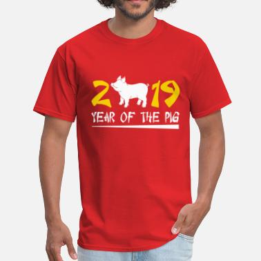 Pig Year Of The Pig 2019 - Men's T-Shirt