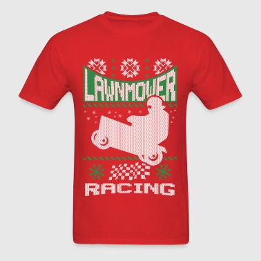 Lawnmower Ugly Christmas - Men's T-Shirt