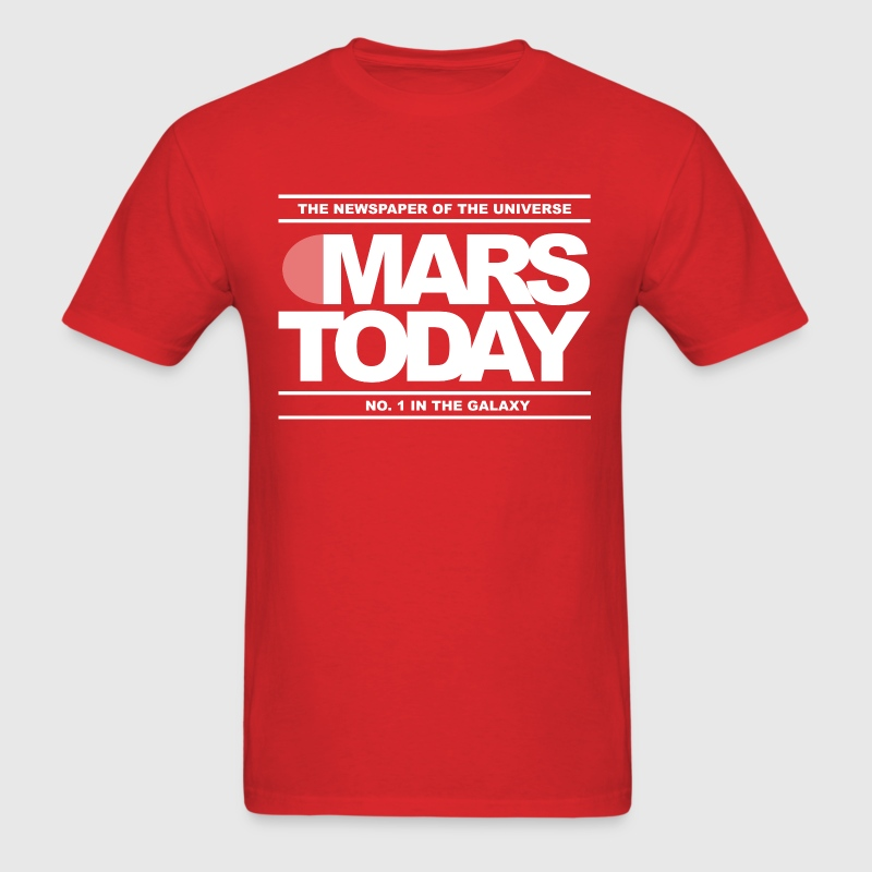 Mars Today - Total Recall - Men's T-Shirt