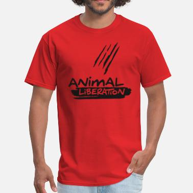 Animal Liberation ANIMAL LIBERATION - Men's T-Shirt