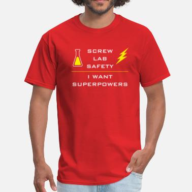 The Flash Get Superpowers - Men's T-Shirt
