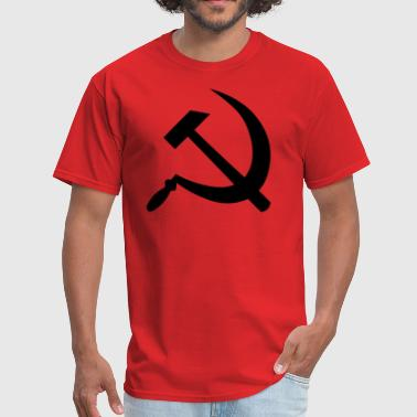 CCCP Sickle And Hammer - Men's T-Shirt