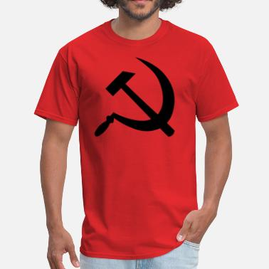 Cccp Hammer And Sickle CCCP Sickle And Hammer - Men's T-Shirt