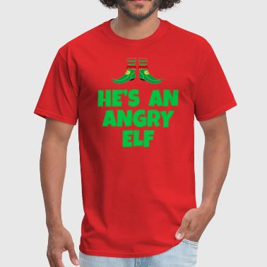 He's An Angry Elf - Elf Quote - Men's T-Shirt
