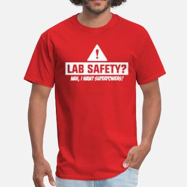 Dc Comics Lab Safety - Men's T-Shirt