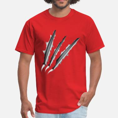 Claw Slash Claw Slashes - Men's T-Shirt
