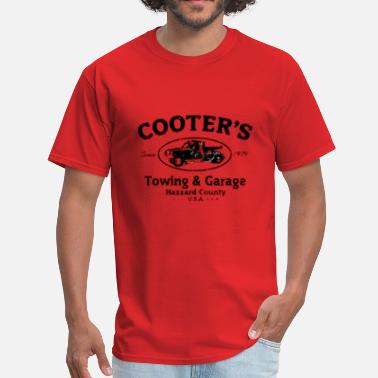 Cooter Cooters Garage - Men's T-Shirt