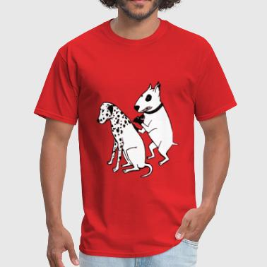 Tattoo Dogs DALMATIAN DOG, TATTOO - Men's T-Shirt