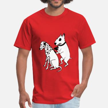 Dogs DALMATIAN DOG, TATTOO - Men's T-Shirt