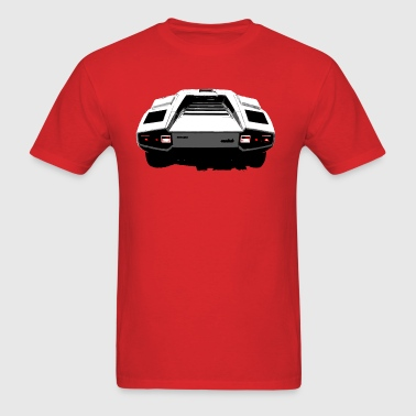 Countach Rear - Men's T-Shirt