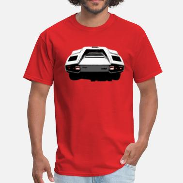 Rear Countach Rear - Men's T-Shirt