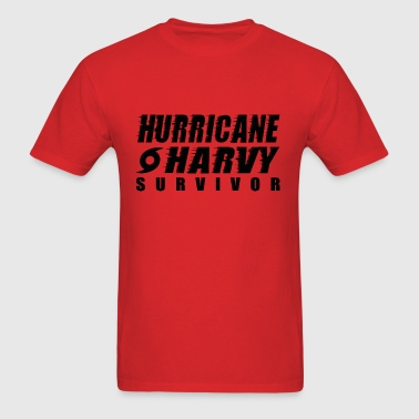 Hurricane Harvey Survivor - Men's T-Shirt