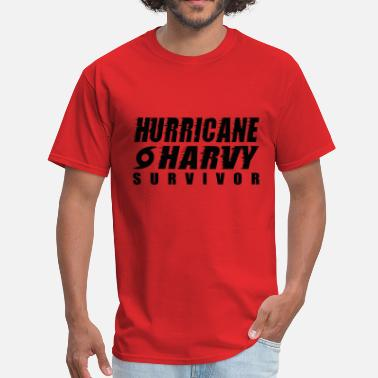Harvey Hurricane Harvey Survivor - Men's T-Shirt