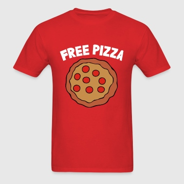 Gravity falls - Free pizz - Men's T-Shirt