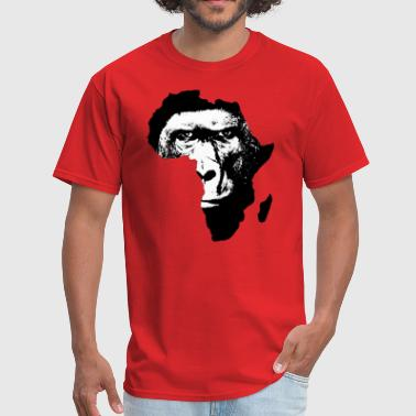 Africa map Baboon - Men's T-Shirt