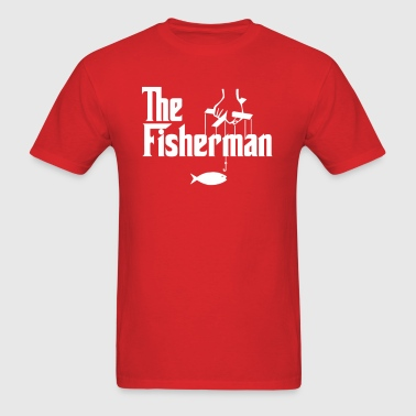 The fisherman - Men's T-Shirt