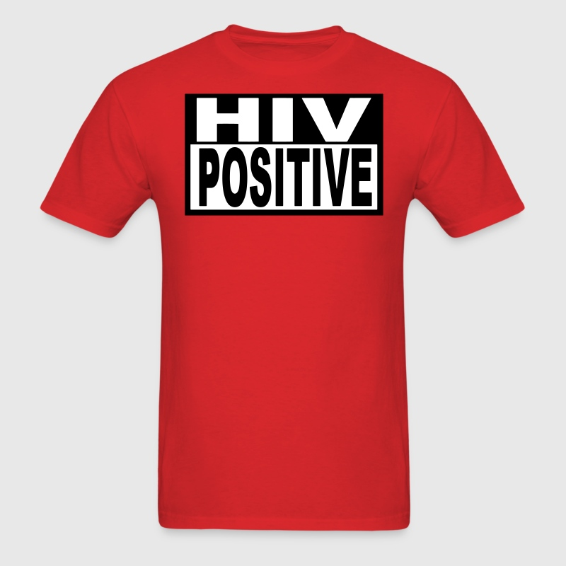 HIV POSITIVE - Men's T-Shirt