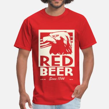 Archer Red beer - Men's T-Shirt