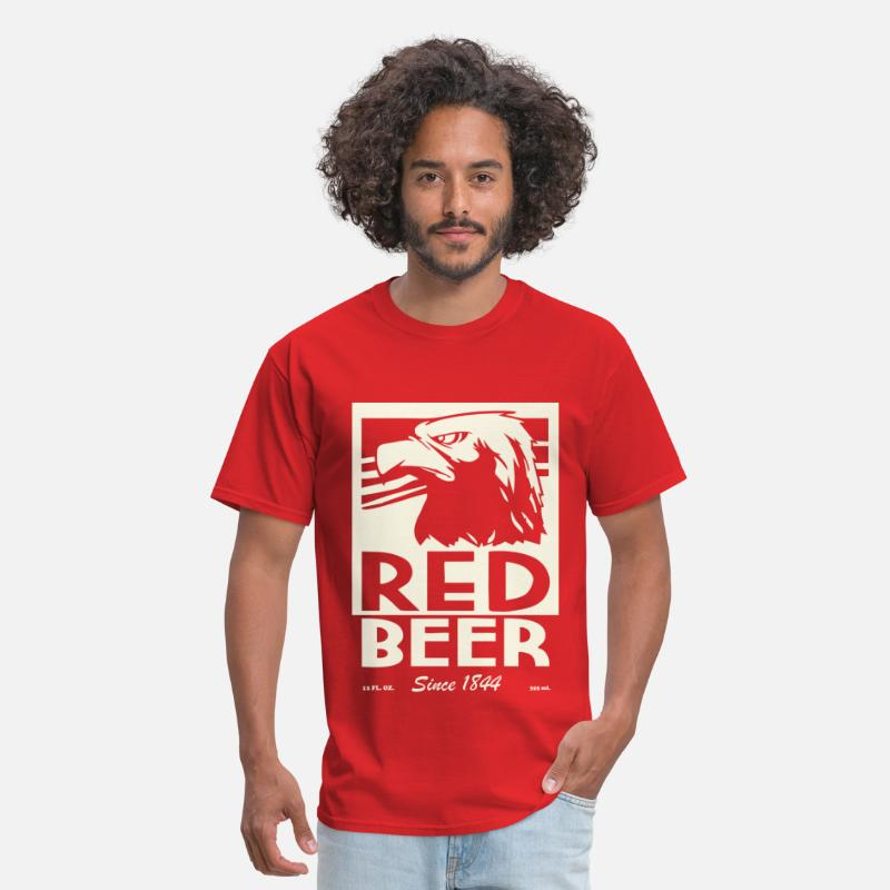 Archer T-Shirts - Red beer - Men's T-Shirt red