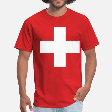 Swiss Cross Swiss Cross - Cross - Switzerland - Symbol - Men's T-Shirt