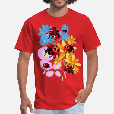 Ladybird Lucky-Love Lady Bugs - Men's T-Shirt