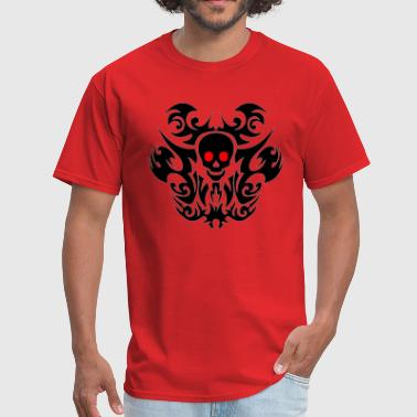 Tribal skull. - Men's T-Shirt