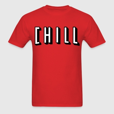 Netflix And Chill - Men's T-Shirt