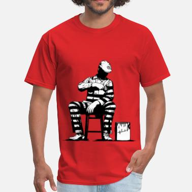 Black Dolk Prison Painter - Men's T-Shirt