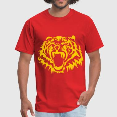 Tiger Attack Tiger - Men's T-Shirt
