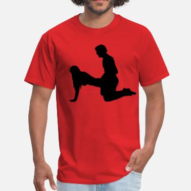 Reds Sex Position Sex - Men's T-Shirt