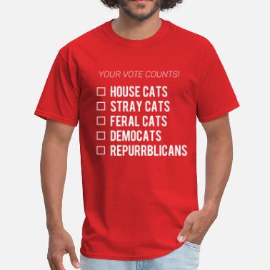 Democats Democats & Repurrblicans - Men's T-Shirt
