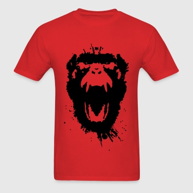 12 Monkeys Scream Stencil Tv Series 2015 - Men's T-Shirt