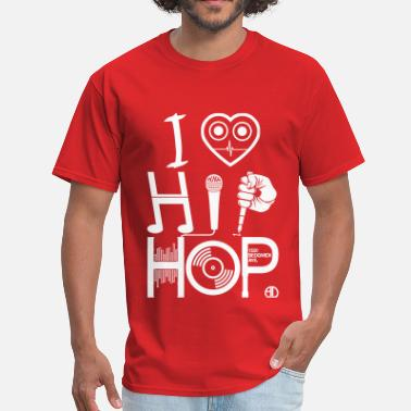 Hip Hop I Love HipHop Music - Men's T-Shirt