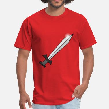 Sword Belt Sword - Men's T-Shirt