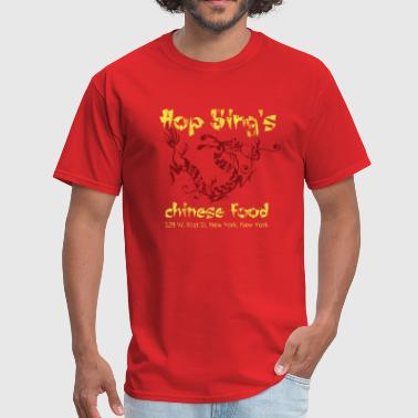 Hop Sing's Chinese Food - Distressed - Men's T-Shirt