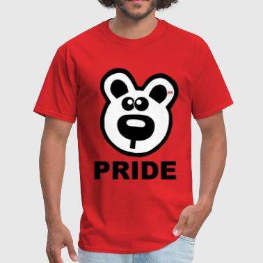 Gay Bears Pride Bears Bear Statement Gay Lesbian Proud  - Men's T-Shirt