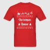 Christmas Queer Holiday Ugly Sweater LGBT Pride - Men's T-Shirt