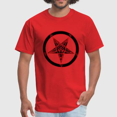 Baphomet 2 Color - Men's T-Shirt