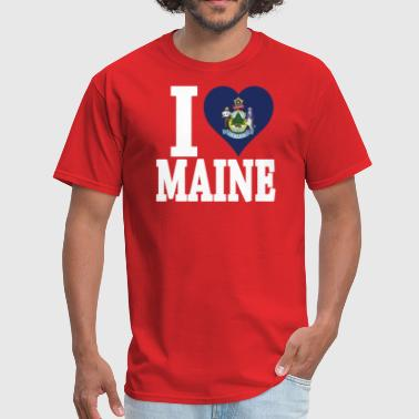 I LOVE MAINE - Men's T-Shirt