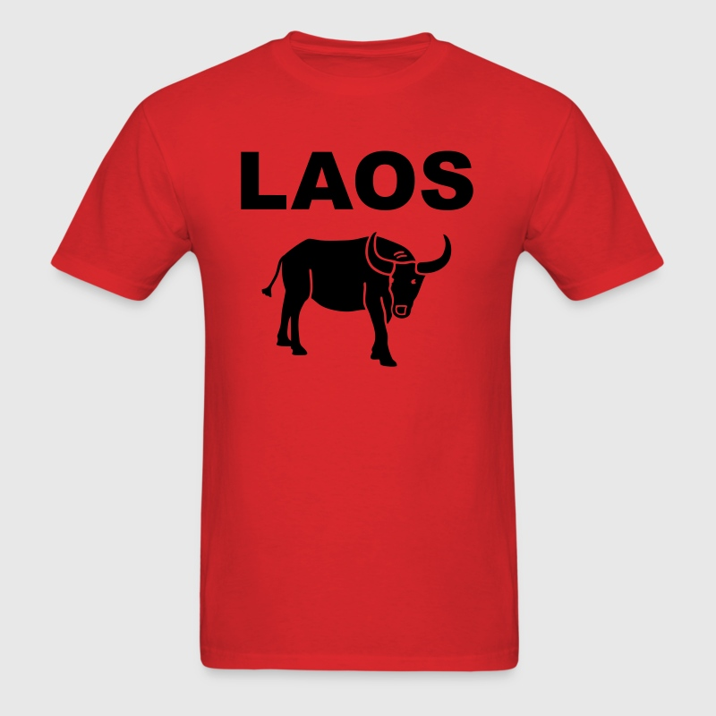 Laos - water buffalo - Men's T-Shirt