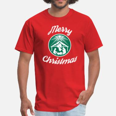 Fuckers Merry Christmas Starbucks - Men's T-Shirt