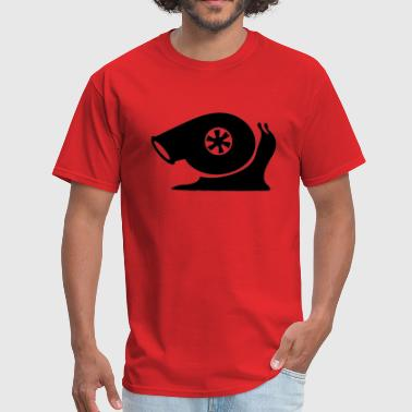 Boosted Turbo Snail Snail.png - Men's T-Shirt