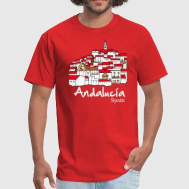 Andalusien Andalucia 2 (dark) - Men's T-Shirt