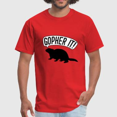 Gopher It - Men's T-Shirt