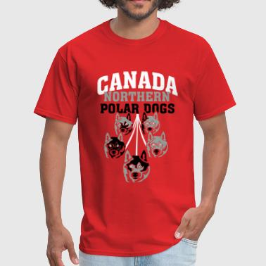Canada Northern Poar Dogs - Men's T-Shirt