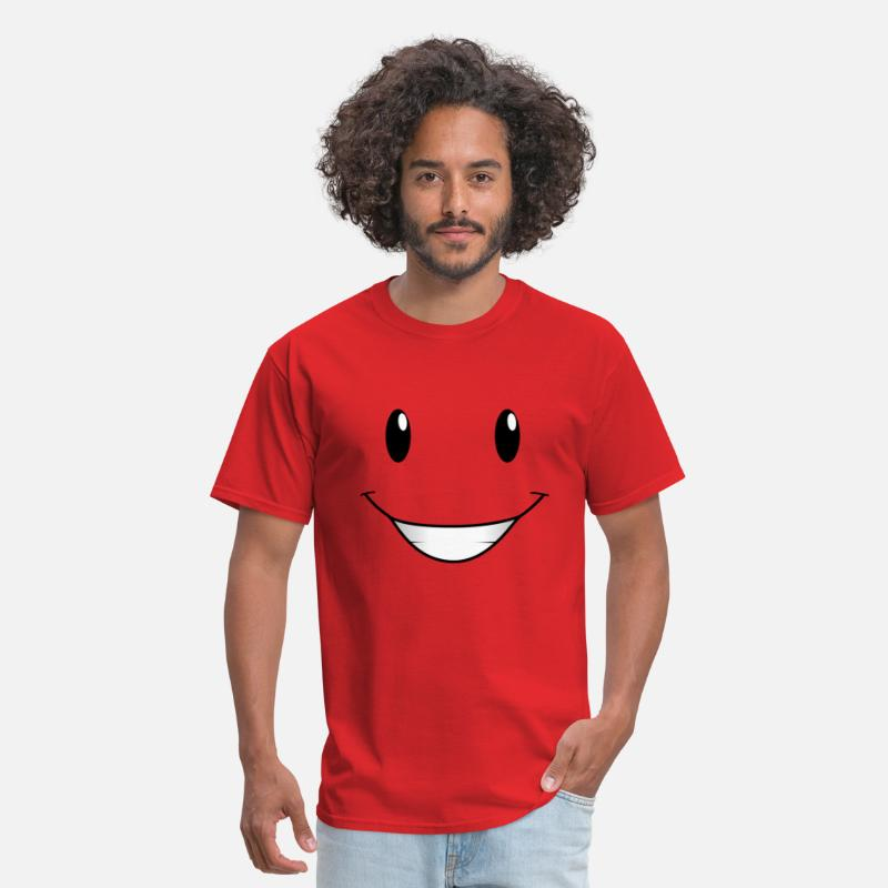 Nick T-Shirts - Face From Nick Junior - Men's T-Shirt red