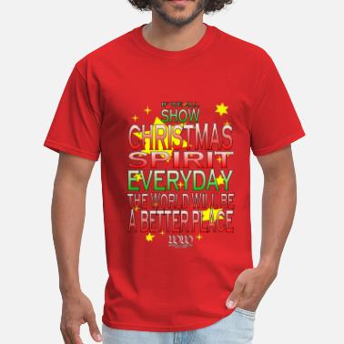 Tdg Christmas Spirit - Men's T-Shirt