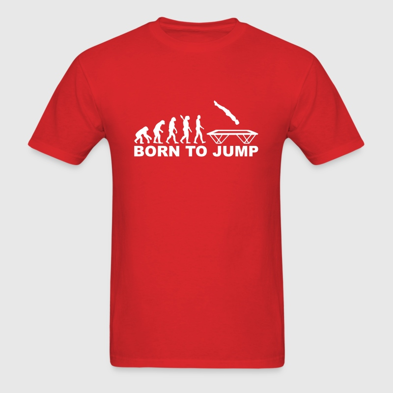 Trampoline - Men's T-Shirt